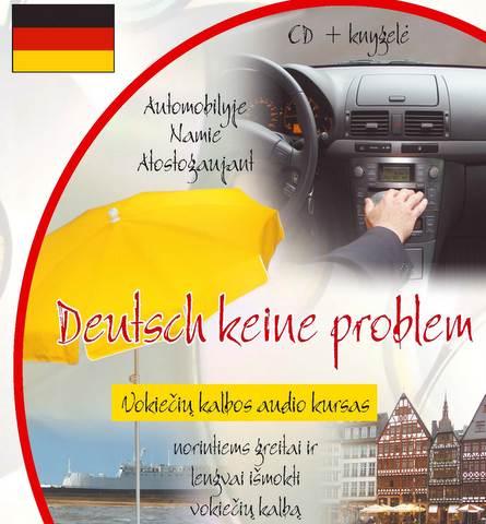 Deutsch keine problem CD. Vokiečių kalbos audio kursas