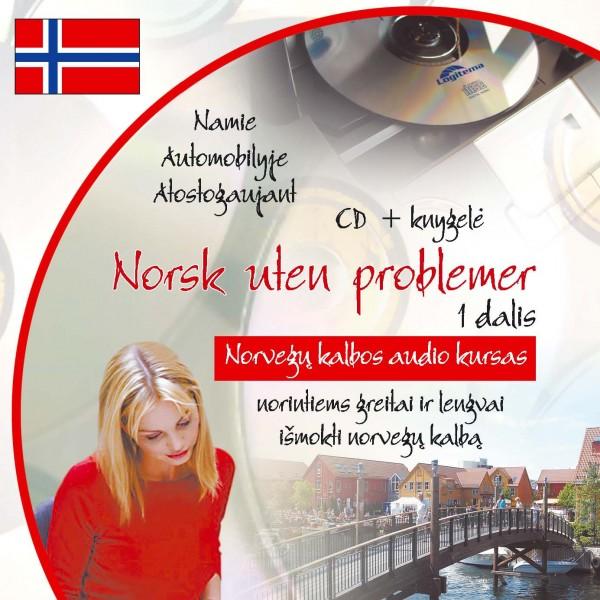 Norsk uten problemer CD. Norvegų kalbos audio kursas
