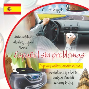 Español sin problemas CD. Ispanų kalbos audio kursas