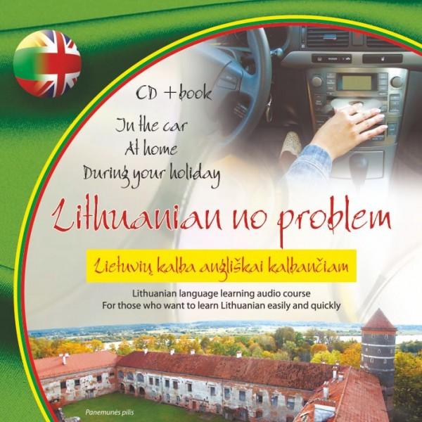 Lithuanian no problem CD+knygelė. Lietuvių kalba angliškai kalbančiam